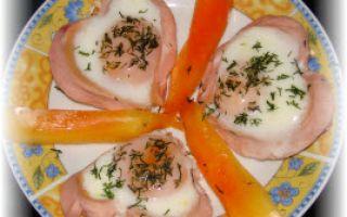 Рецепт блюда из сосисок