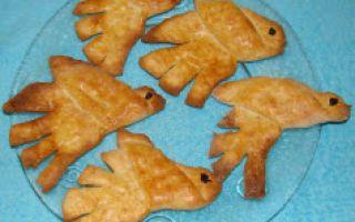 Фигурное печенье Жаворонки