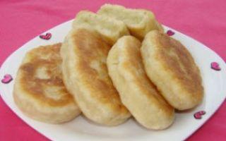 Пирожки на сыворотке с картошкой