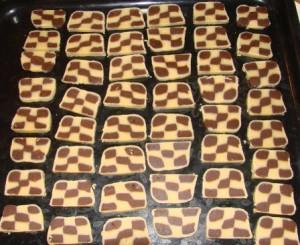 Шахматное печенье