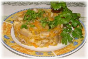 грибы в винном соусе