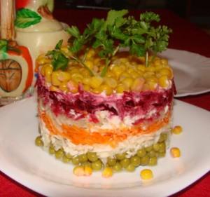 как приготовить из картошки салат