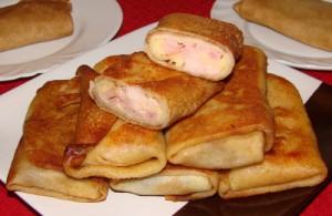 Рецепт свинины с сыром и беконом с фото