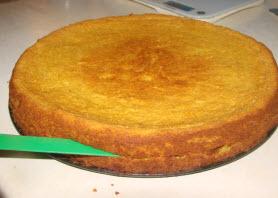 миндальный пирог с апельсинами